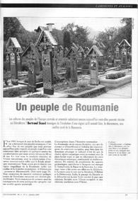 SICARD Un peuple de Roumanie - L'Ecologiste